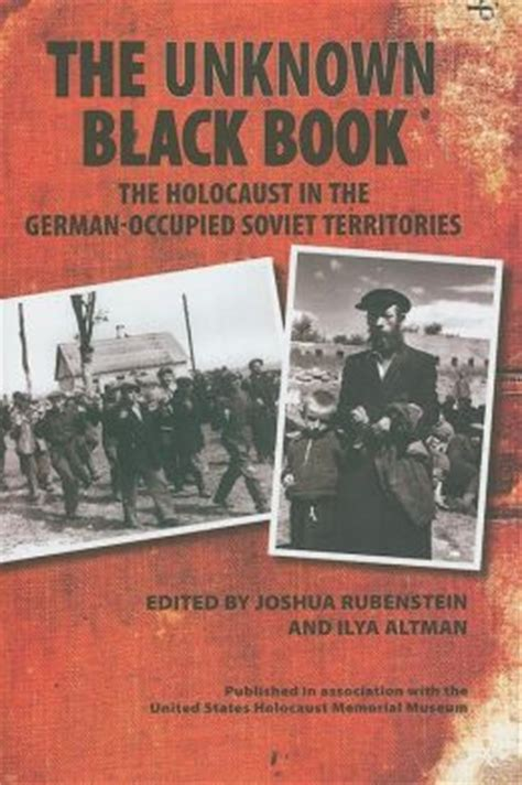 picture books about the holocaust unknown black book the holocaust in the german occupied