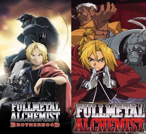 fullmetal alchemist covers fullmetal alchemist animes which one is better the