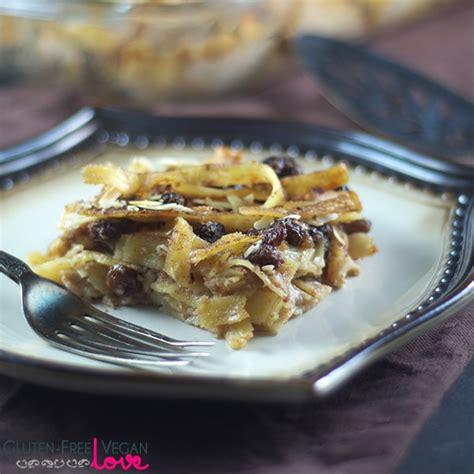 gluten free vegan noodle kugel dessert refined sugar free l unconventional baker