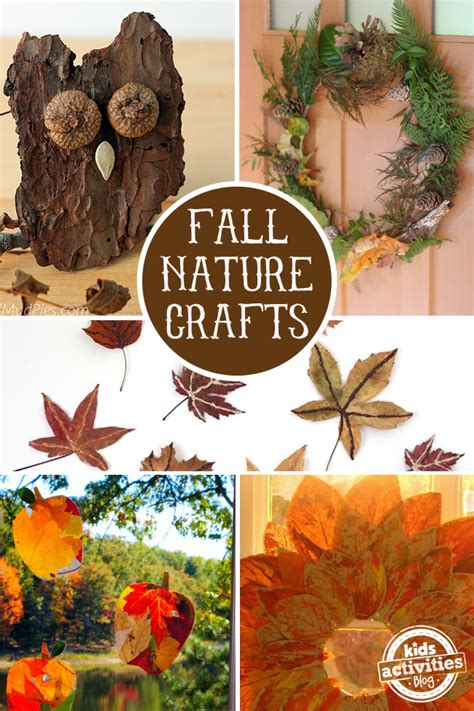 fall crafts to do with 16 fall nature crafts for preschoolers