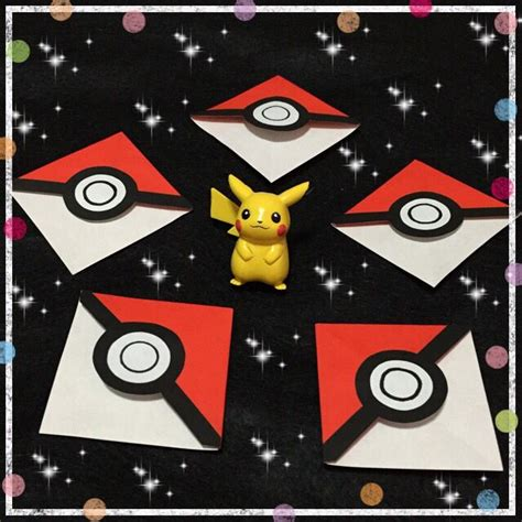 origami pokeball 25 best ideas about origami bookmark on paper