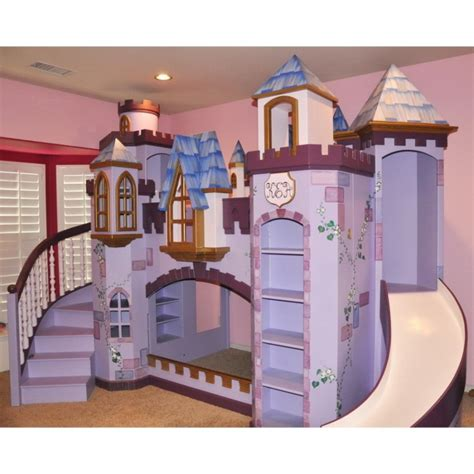 castle bunk beds for bedroom alluring castle bunk beds with slide and stairs