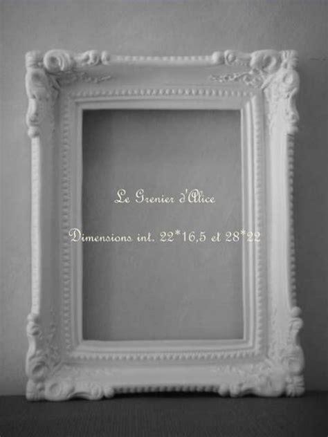 cadre patin 233 style baroque patine shabby chic romantique decoration de charme frame decor