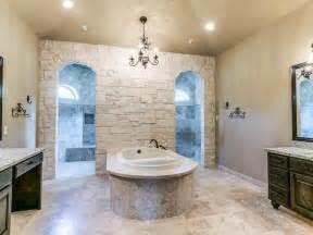 Custom Bathroom Ideas by Custom Bathroom With Walk Through Shower Yep That S