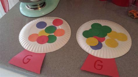 craft work for kindergarten letter g crafts preschool and kindergarten