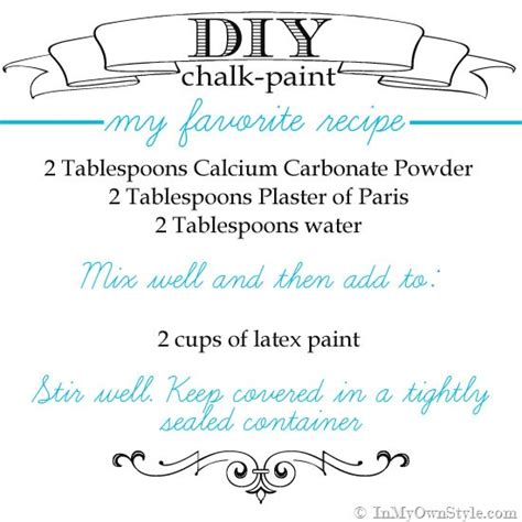 chalkboard paint not smooth furniture makeover mixing up diy chalk paint recipes