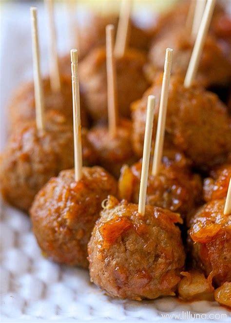 appetizers bbq barbecue meatballs appetizer recipe dishmaps
