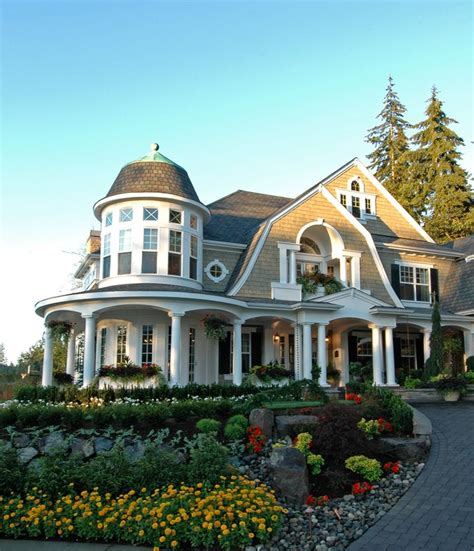 style home designs shingle style waterfront home plans