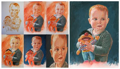 acrylic painting portrait step by step portrait steps by artoonator on deviantart