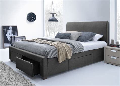 size storage bed frame king size bed with storage king size platform bed frame