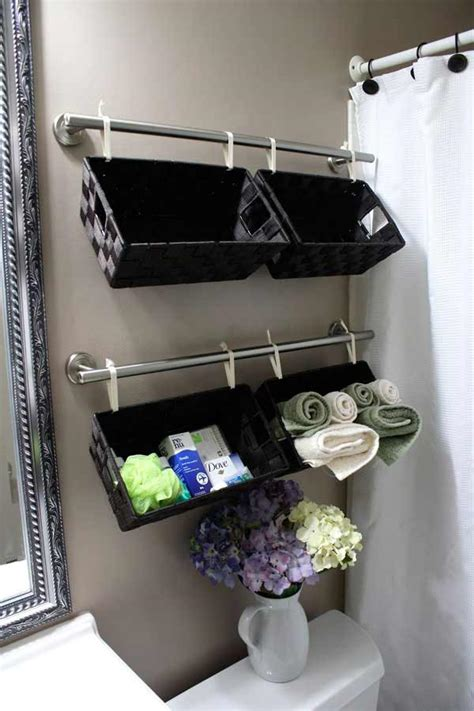 30 Diy Bathroom Storage And Space Savers Page 2 Of 2
