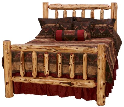 log bed aromatic cedar log bed cedar log bedroom