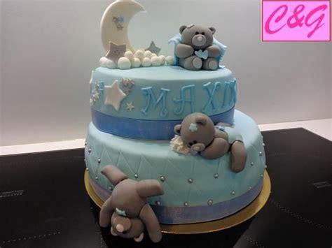 g 226 teau ourson b 233 b 233 d un an en p 226 te 224 sucre fondant cake teddy projets 224 essayer
