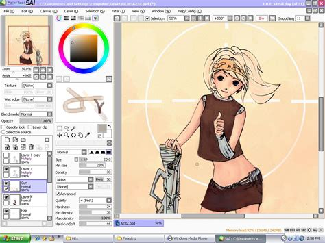 easy paint tool sai free easy paint tool sai portable soft air