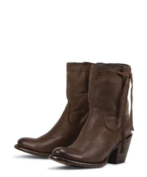 ladies boots on sale new brown all leather womens ladies fashion ankle boots