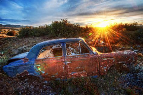 Car Sunset Wallpaper by Sunset Car Wallpaper Allwallpaper In 11576 Pc En