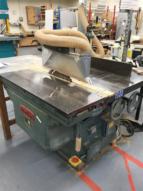 ws woodworking machinery wadkin pp panel saw w s woodmachinery