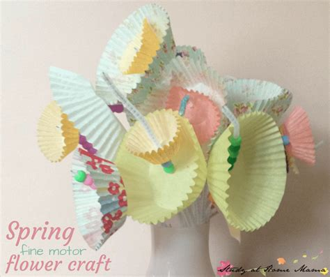easy flower crafts for easy flower craft for study at home
