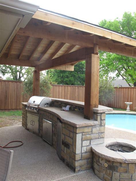 patio kitchen designs best 25 simple outdoor kitchen ideas on