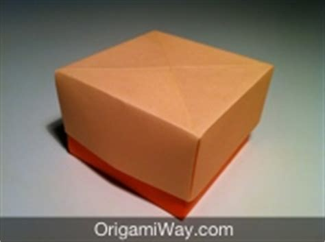 how to make origami box with lid easy how to make an origami box with lid