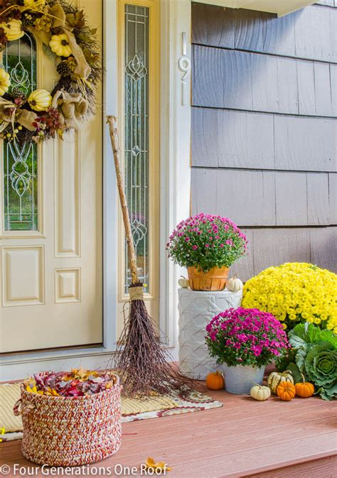 autumn front door decorating ideas fall front door decorating ideas