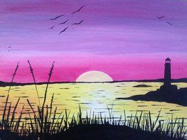 paint nite boston events 355 best images about painting oceans sunsets on