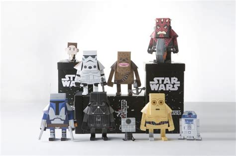 paper craft wars wars papercraft by south korean designers momot
