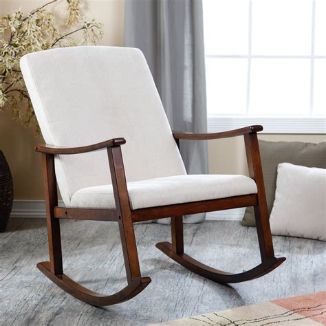 Chair Rocker by Upholstered Rocking Chairs On
