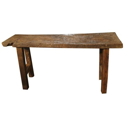 primitive sofa table 18th century primitive console table at 1stdibs