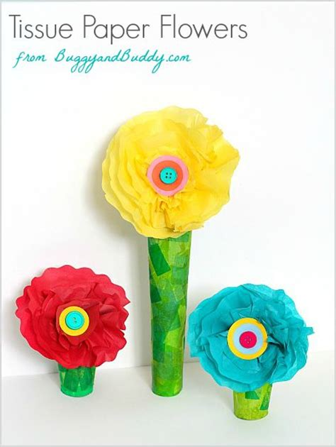 tissue paper flowers craft 371 best crafts images on