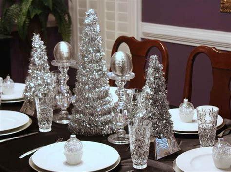 silver table decor ideas