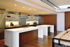 modern kitchen by gluck and partners architects