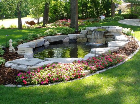 Waterfalls Amp Ponds Traditional Landscape Minneapolis