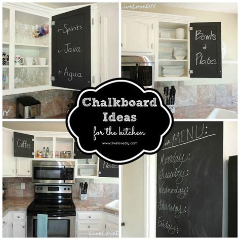 diy chalkboard kitchen cabinets 17 best images about kitchen decor storage and