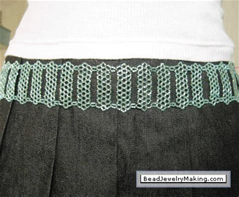 how to make a beaded belt turquoise beaded belt