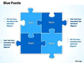 jigsaw template powerpoint 28 images best photos of
