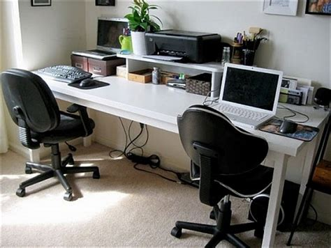 two person desk home office furniture furniture diy computer desks for two types of