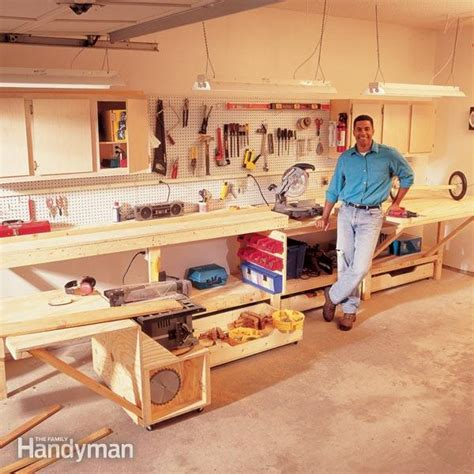 family woodworking garage cabinets diy garage cabinets workbench