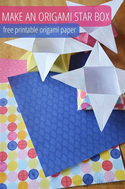 origami box printable origami boxes with printable origami paper origami