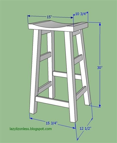 bar stool woodworking plans diy wooden bar stool plans woodworking projects plans