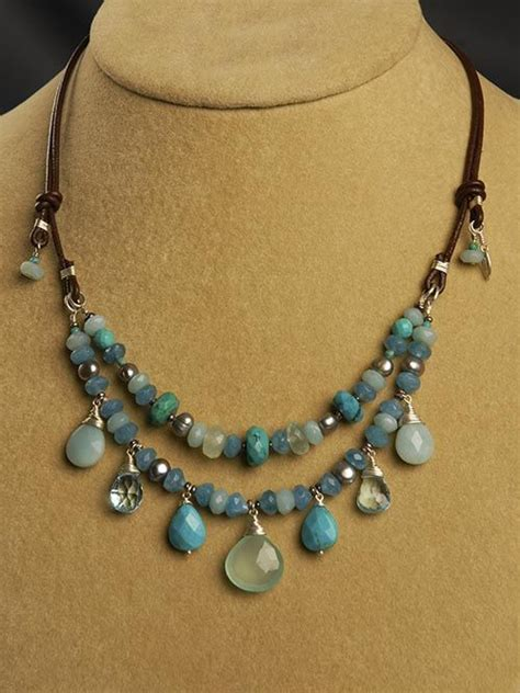 make handmade jewelry 17 best images about handmade necklaces on
