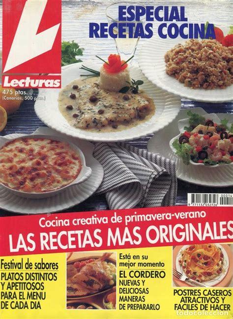 recetas de cocina revista lecturas lecturas especial recetas cocina n 186 14 a 241 os comprar