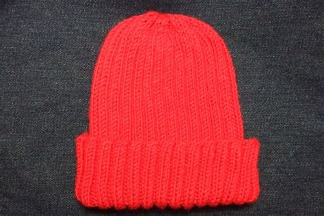 free knitting pattern childs hat knitting patterns galore basic ribbed baby child hat