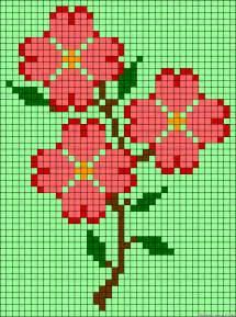perler bead flower patterns flowers perler bead pattern