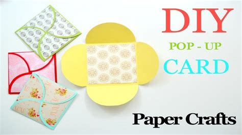 paper craft cards how to make a greeting card diy paper crafts birthday