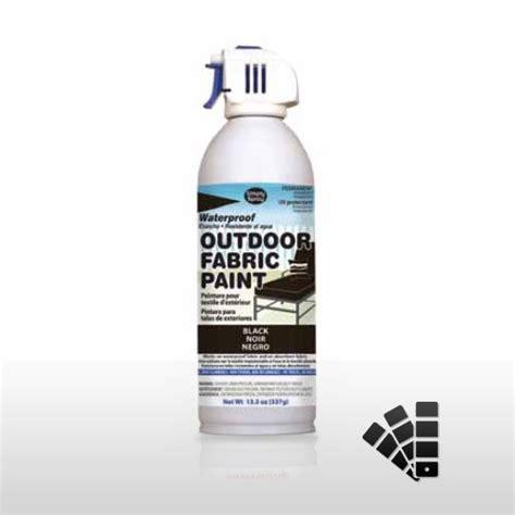 Black Waterproofing Fabric Spray Paint Effective