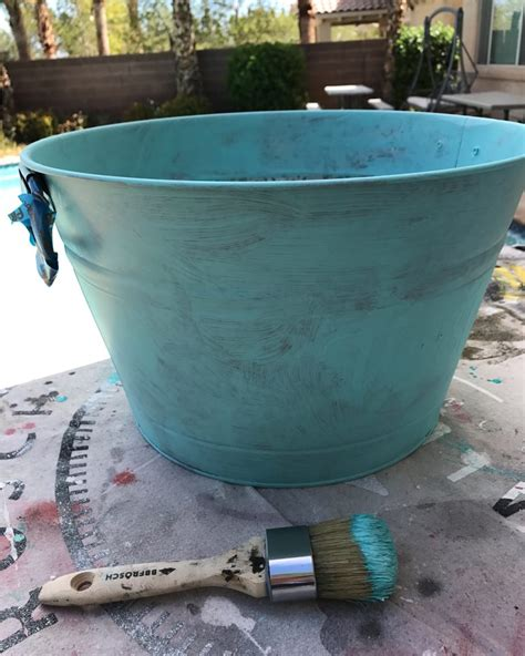 chalk paint metal how to paint metal with chalk paint