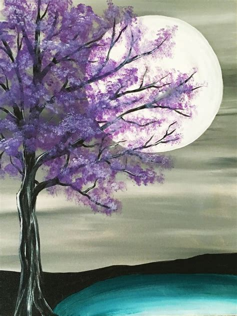 paint nite nyc events 25 best ideas about tree paintings on diy
