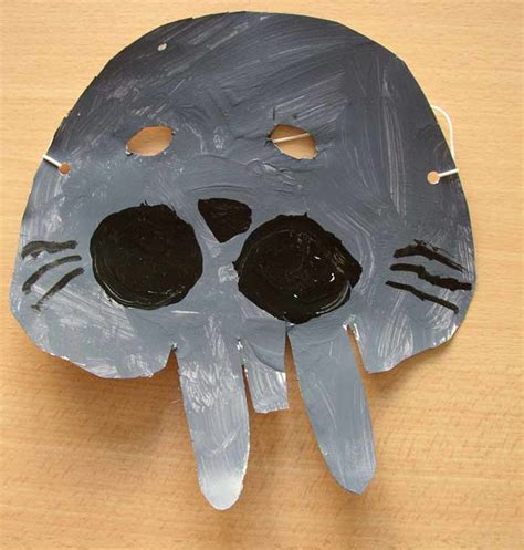 mask craft for masks carnival preschool
