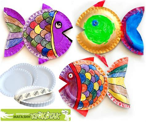 arts and crafts with paper plates paper plate by krokotak